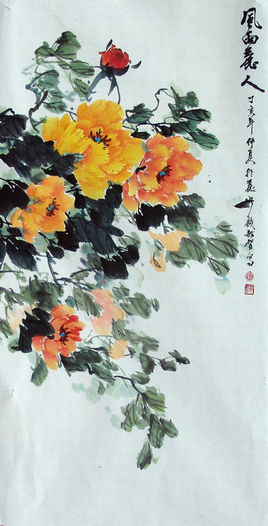 敏智的花鸟画 - yangli.1946 - yangli.1946的博客