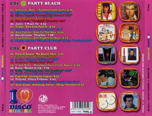 VA-I Love Disco Summer Vol.1-3 (2008) - 意大利铁匠 - 分享劲爽节奏--XINBO21
