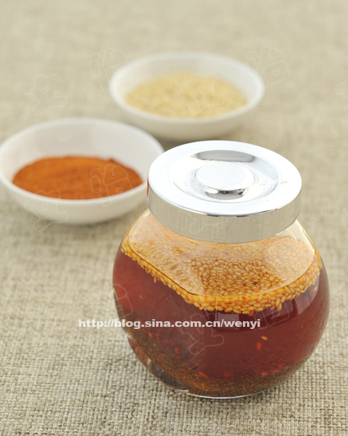 你会做好吃的辣椒油么?------厨房那些事儿