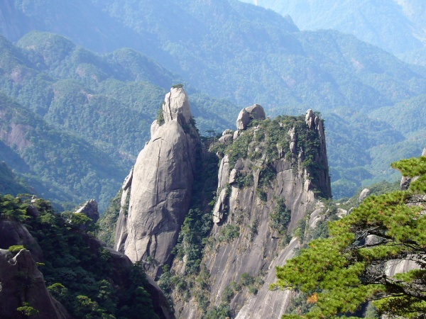国家地质公园三清山美丽景致[组图] - 白山黑水 - 近水楼台