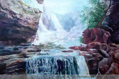 [原创]美国大峡谷(阿原作品欣赏) - 阿原 - 诗意的彩虹,心灵的旋律