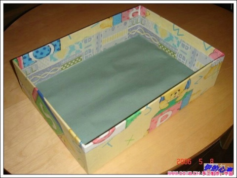 内衣收纳盒制作 - 雨诺 -          被 遗 忘 的 角 落