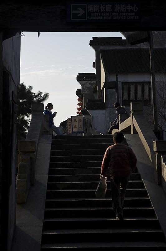 走马观花——江南古镇西塘二(原) - 菜鸟 - 菜鸟