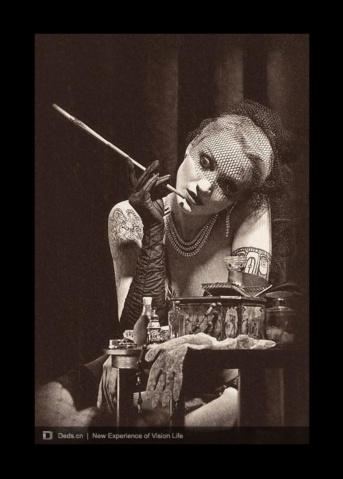 摄影师Maxim Kalmykov人物摄影作品欣赏 - 五线空间 - 五线空间陶瓷家饰