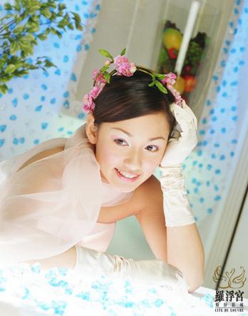嘉碧仪婚纱美图 - 水无痕 - 明星后花园
