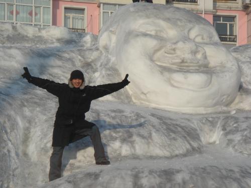 惨,冰天雪地,冻成了重感冒!!! - 高昊 - 高昊 的博客