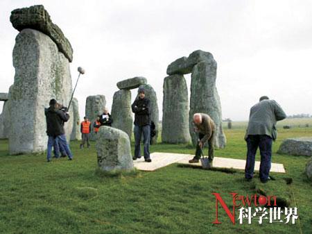挖掘巨石阵破解谜团 - kxsj - Newton-科学世界