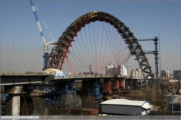 [组图]巧夺天工 令人叹服的莫斯科风景桥(1/2) - 路人@行者 - 路人@行者