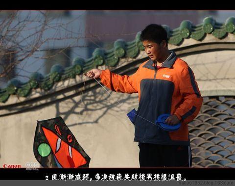 放风筝的男孩图片