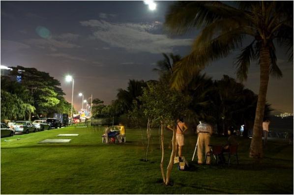 [原]深圳·红树林·中秋夜 - Tarzan - 走过大地