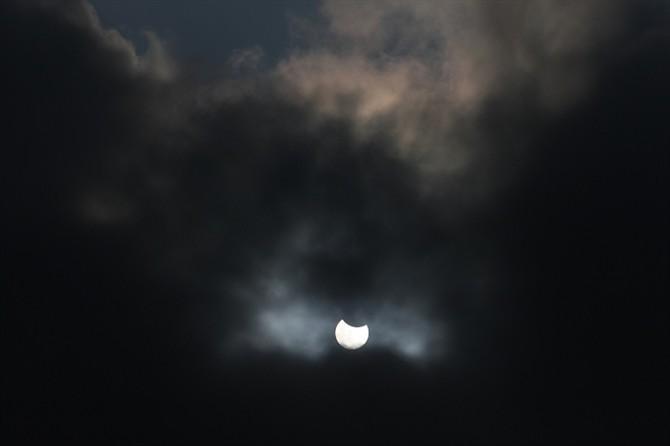 齐聚广电楼顶    拍摄天文奇观 - fyc1123 - 南关小巷