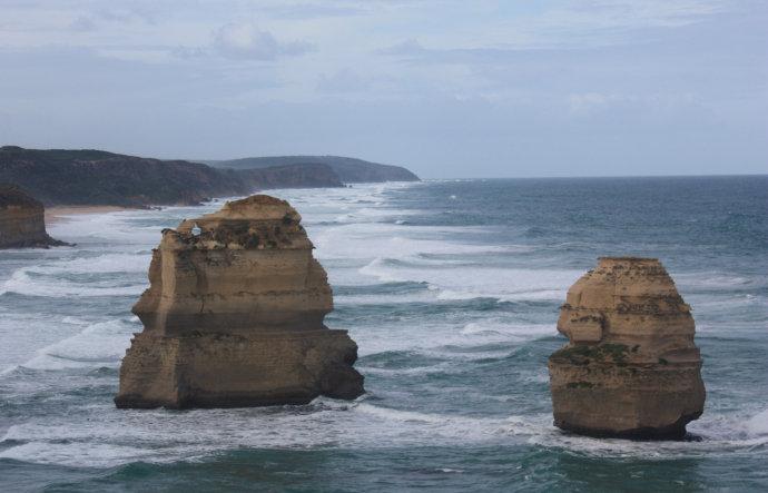 坐直升机观澳洲奇景(图) - 徐铁人 - 徐铁人的博客