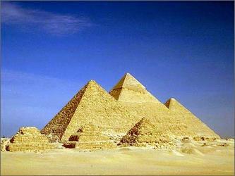 """埃及金字塔引发的""""金字塔能""""研究  (自由诗)"""