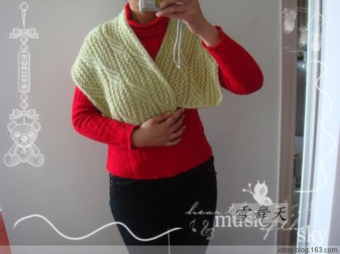 Pretty Knitting Club ~0902~1. 志田披肩2004 NO9  - 画画 - 我的博客