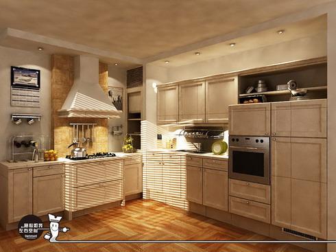 厨具效果图设计 - zhemu - 柘木