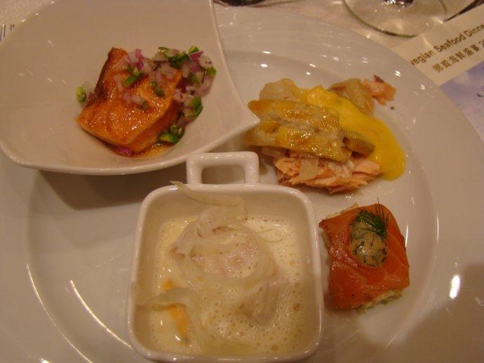 挪威海鲜盛宴 - 和研礼仪文化 - 卢浩研--美食美酒无国界