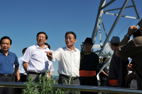 吴邦国委员长视察红花尔基林业局 - baosaiyin831 - baosaiyin831的博客