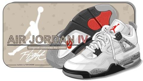 乔丹系列球鞋的照片和壁纸