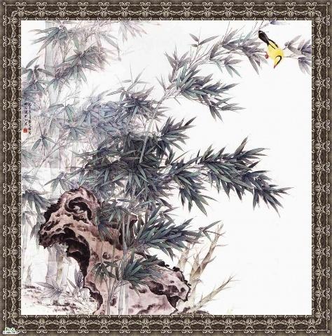 引用 竹画 【组图】 -  三月飞春雪 - 三月飞春雪