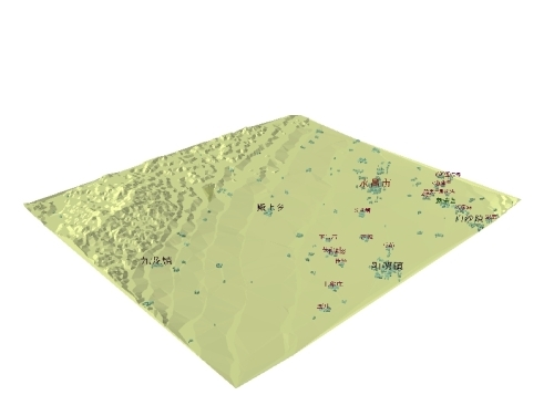 ArcScene中三维图片的输出 - younglion - naigeer的知识库