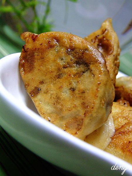 用情感扮靓美食----荠菜虾仁煎饺子(四款爱心饺子) - 可可西里 - 可可西里