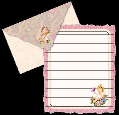 png格式的信纸 玫瑰夫人