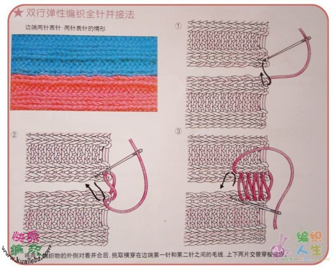 无缝拼接方法 - 停留 - 停留编织博客