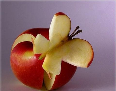 """幽默的蔬菜水果创意拼图【组图】 - 渴望美好 - """"渴望美好""""的博客(读天下文、交天下友)"""