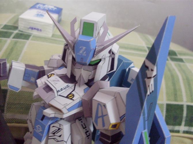 仍然纸模——SD Z Gundam - 子誉 - 子誉的模型周记