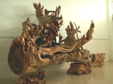 中国根雕艺术  - 愚人 - 愚人 似愚非愚 愚与形而慧与心