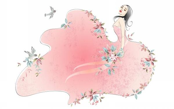 精美的女人花图片欣赏(组图) - 月亮湾 - 月亮湾的笑声