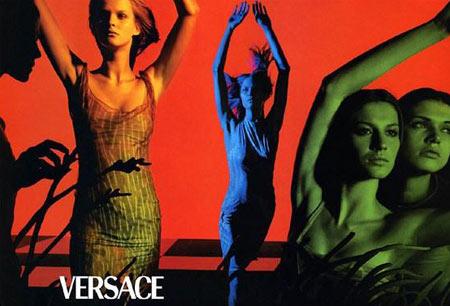 Versace 经典炫目广告 - 五线空间 - 五线空间陶瓷家饰