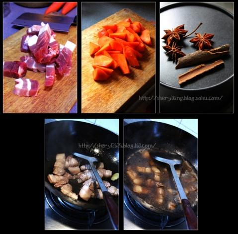 萝卜红烧肉 - 出尘素影 - 淡极始知花更艳