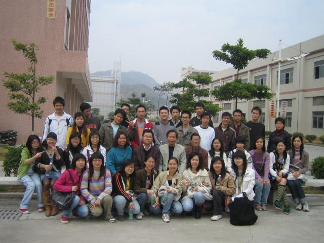 【日记】广州大学纺织服装学院到龙润纺织公司参观 - 湛汝松 - 新塘拾贝