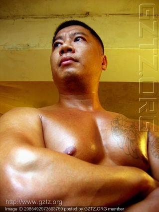 引用 纹身/平头/健壮/成熟男/ - 男舍男分 - 我心永恒