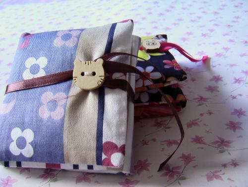 小妻布艺手工----月包和小裤头零钱包 - 开心如意 - 开心如意的博客