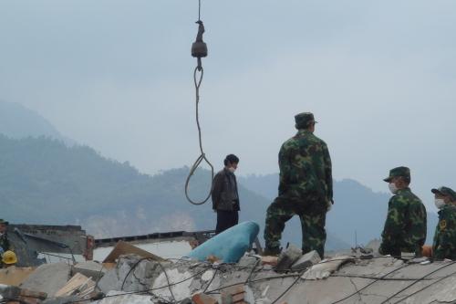 地震中我去过的地方——汉旺 - 途中的流水和酒 - 途中的流水和酒的博客