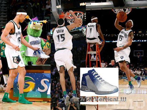 08ALLSTAR 技巧,三分,灌篮比赛的鞋子 - US10 - US10的鞋子们的故事