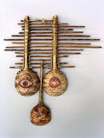 阁子手工--现代马勺作品 - 天高.我翔 - 艺术世界