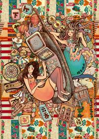 视觉想象手机之城市画报-大哥大  - 张向东 - 张向东 朝西  Z