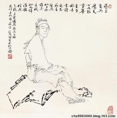 [搜集整理] 范曾人物画系列2 - 陈迅工 - 杂家文苑