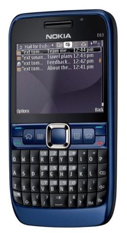 双生儿——诺基亚E63登场 - 小魔怪 - Nokia 诺基亚