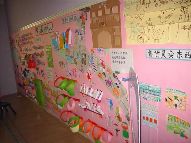 幼儿园主题墙设计 蓝色魅影的日志