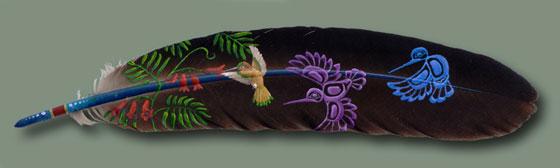 引用 羽毛上的美丽(转) - 304977538 - 304977538
