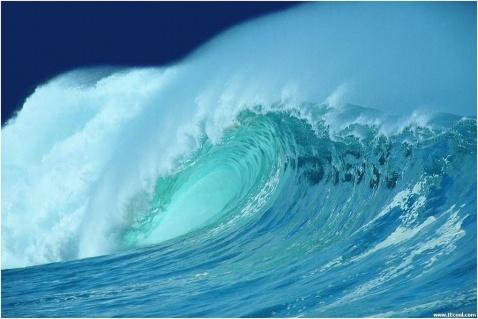 海 潮 - 山水悠游 - 山水悠游的博客