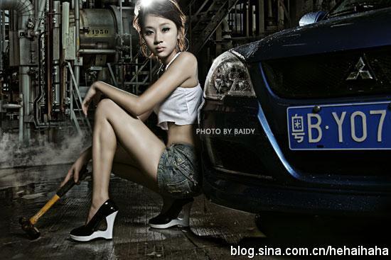 妩媚小妖精修理厂的性感大对决 - car-tn - 《汽车美容店金牌店长》