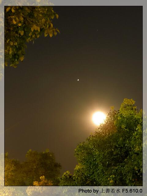 【引用】现代诗【木星合月】千叶