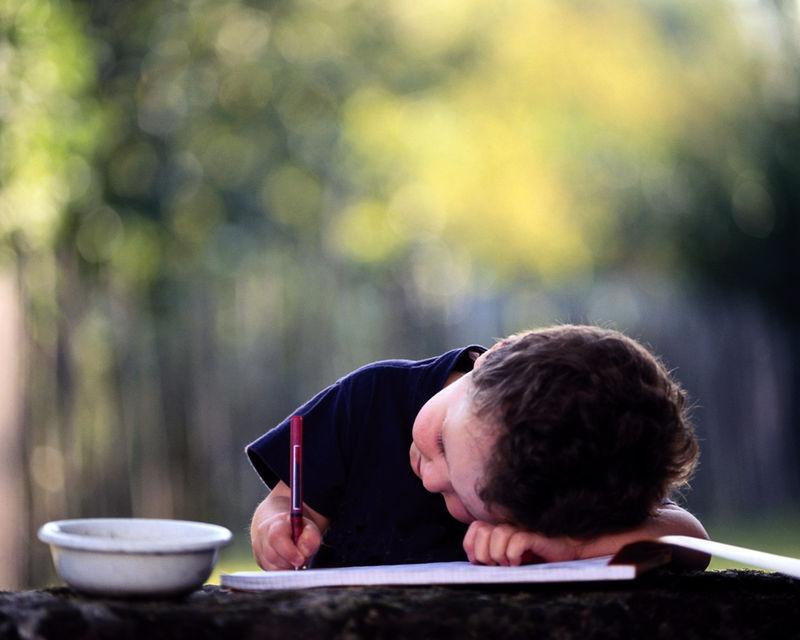 原创:中国的孩子太累了 - 清音 - 清音