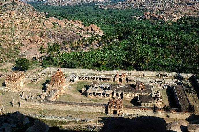 亨皮的印度教寺庙遗址 - Y哥。尘缘 - 心的漂泊-Y哥37国行