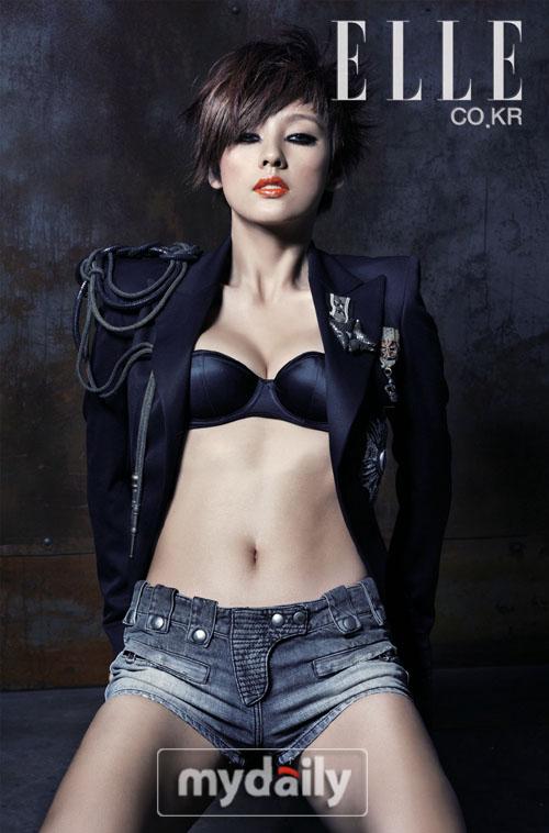 组图:李孝利时尚写真 散发令人窒息诱惑力 - million - 挚爱神起80后新贵--健康,自信,魅力!